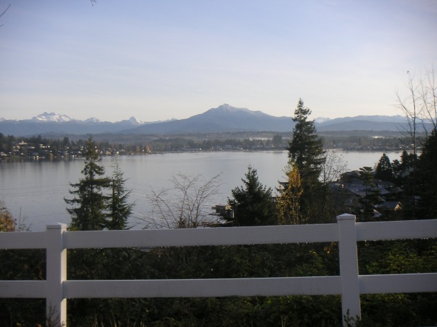 Winter Views of Lake Stevens