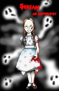 Cover for Scream--A YA Short Story Anthology (Bridgehouse Press/UK)