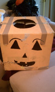 The Pumpkin Box Costume