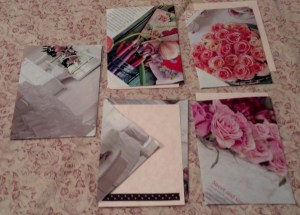 Second Face side postcards